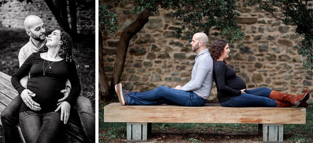 couple aux regards amoureux