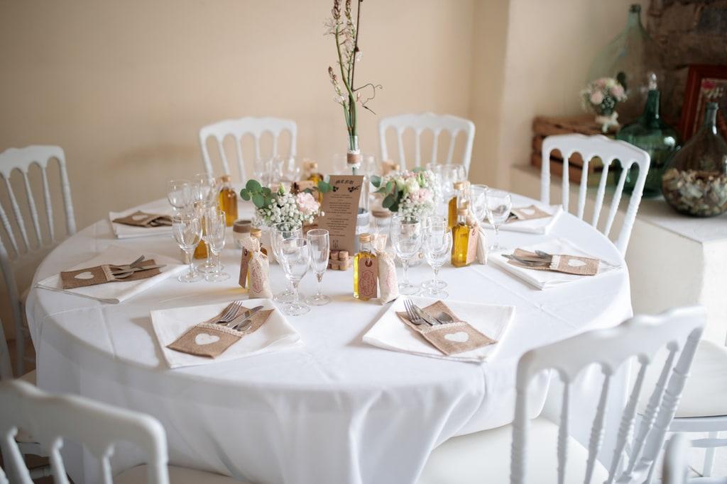 dressage des tables