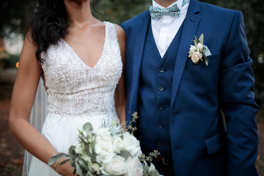 robe et costume de mariage