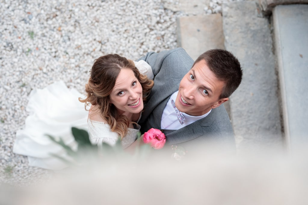 séance couple des mariés